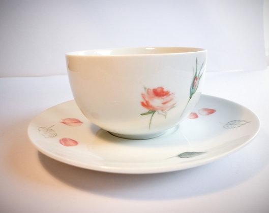 """Tasse à thé """"romantique""""A"""