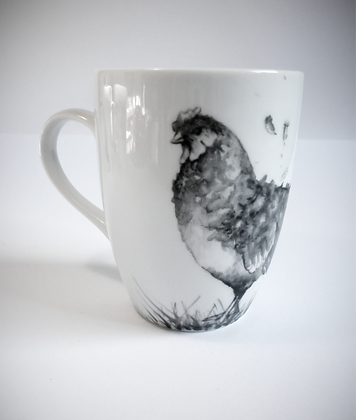 "Mug ""obus"" poule"