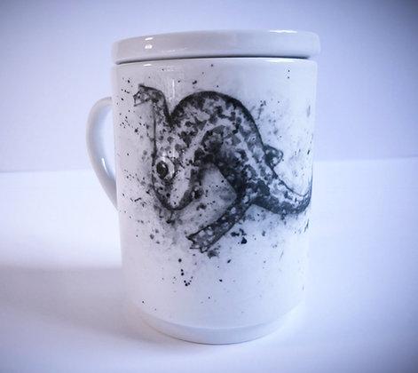 """Mug """"tisanière"""" salamandre"""