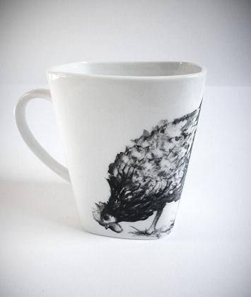 """Mug """"carré"""" poule"""