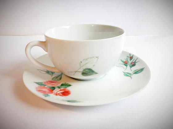 """Tasse à thé """"romantique""""C"""