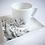 """Thumbnail: Tasse à café """"motif floral"""""""