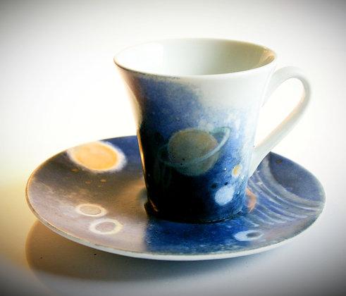 """Tasses à café """"flandre cosmos B"""""""