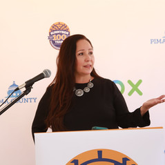 Adelita speaking at COX Broadband event.