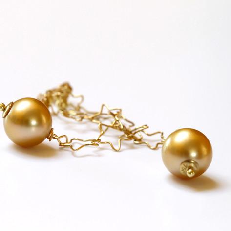 Golden Star Danglies