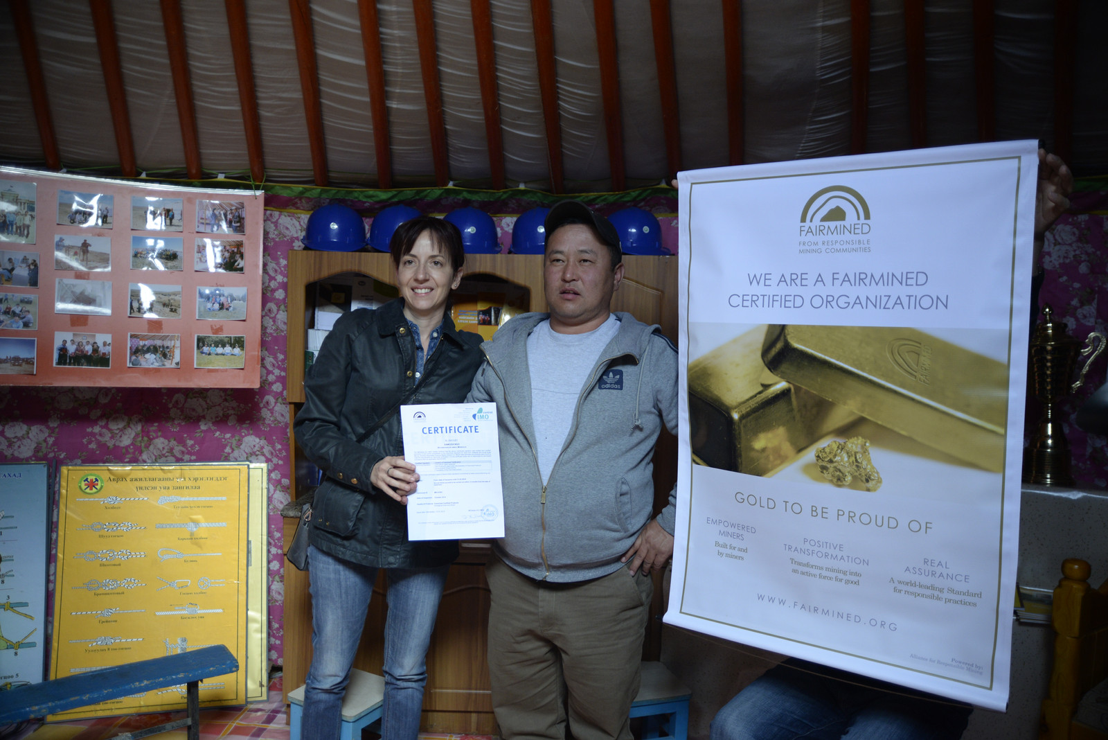 Fairmined Ecological Gold, XAMODX, Mongolia  Anna Moltke