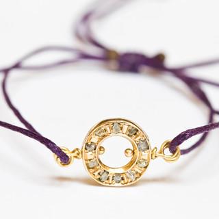 Rough Diamond Sister Bracelet