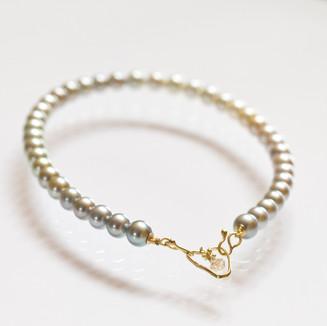 Pastel Tahiti Pearl Necklace