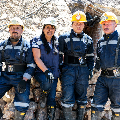 Gold miners, La Llanada - ©Manuela Franco