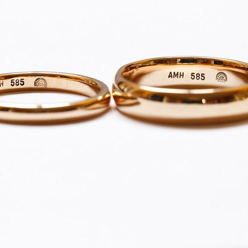 Classic Fairmined Wedding Rings