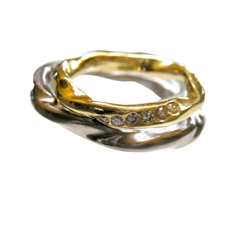 Organic Wedding Rings