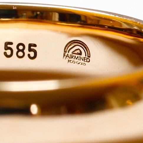 Fairmined Ecological Wedding Ring