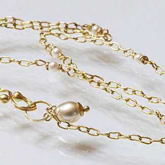 Handcrafted Gold Necklace