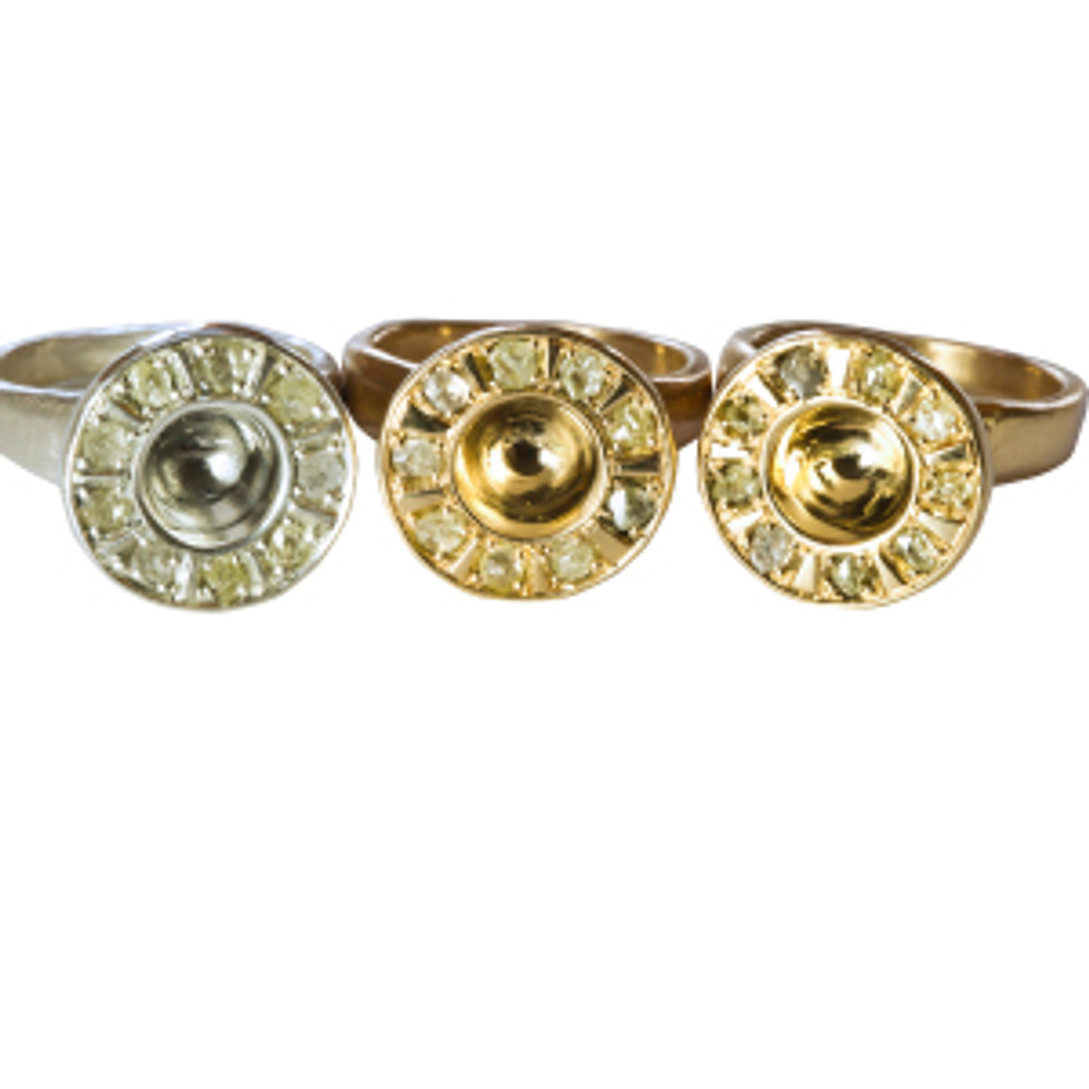 Fairtrade and Fairmined gold and silver rings