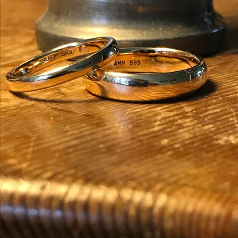 Classic, Fairmined Wedding Rings 5