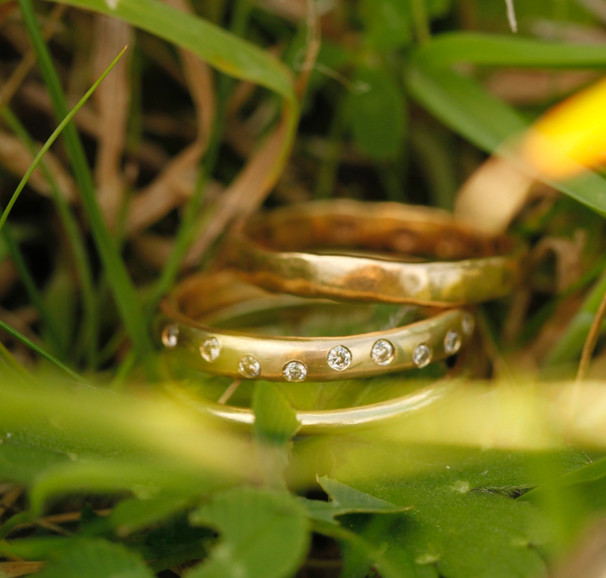 Guld- og diamantringe