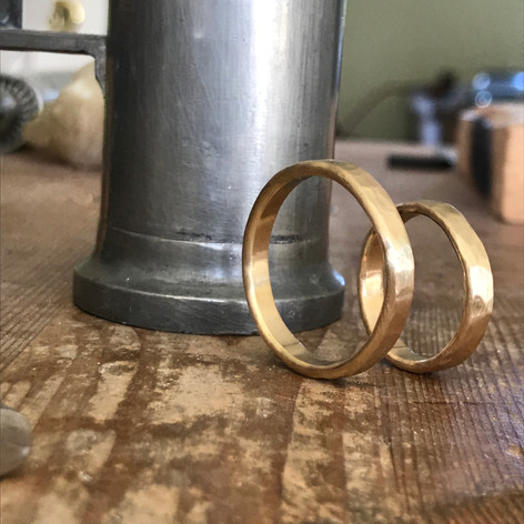 Wedding Rings in FAIRMINED Gold