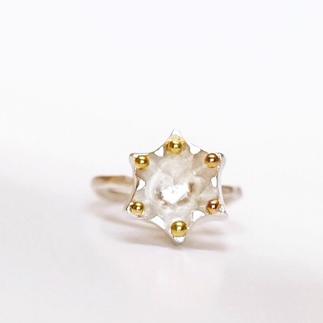Fairmined Star Crown Ring