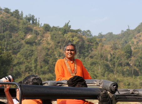 India - a silent retreat with our spiritual master