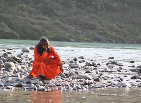 India - Rishikesh, the Ganges and a train ride to Vrindavan