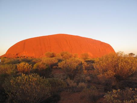 Australia - We got red sand EVERYWHERE