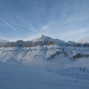 Italy - Ski and Ride in a coral reef: the Dolomites
