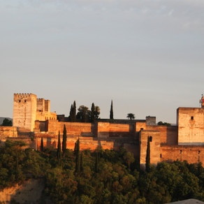 Spain - a birthday stroll in the Alhambra