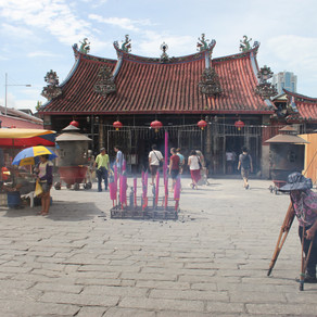 Malaysia - starting the year of the dragon in Penang