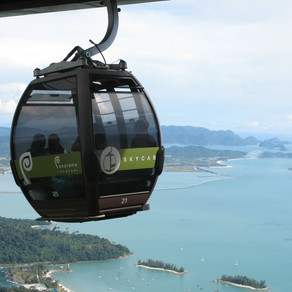 Malaysia - Langkawi: a big island, a scooter, a skyride, monkeys and lots of fun