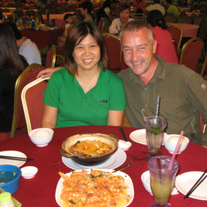 Malaysia - meeting a Facebook friend in Kota Kinabalu (Sabah)