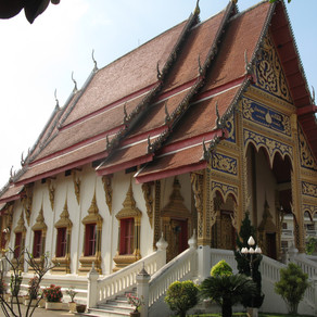 Thailand - meeting an old friend in Lampang