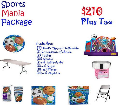 Sports Mania Package