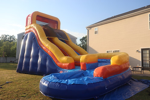 *NEW* 20' Ft Curve Water Slide