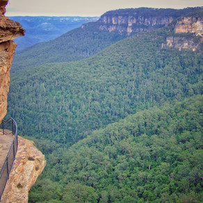 Charles Darwin Walk, Blue Mountains National Park, NSW, Australia