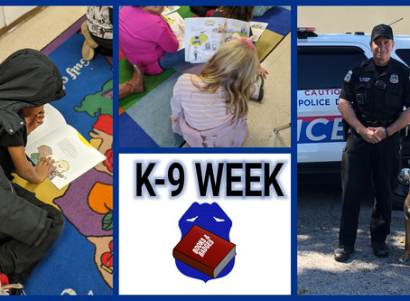Virtual Books & Badges: Ofc Brian Carter and K9 Odja