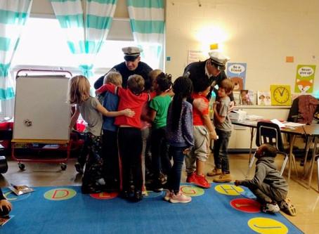 Books & Badges: Salem Elementary