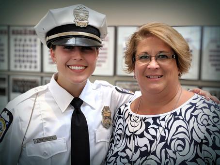 Columbus Police Recruit Graduation