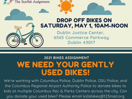 Bike Donations: Dublin Justice Center