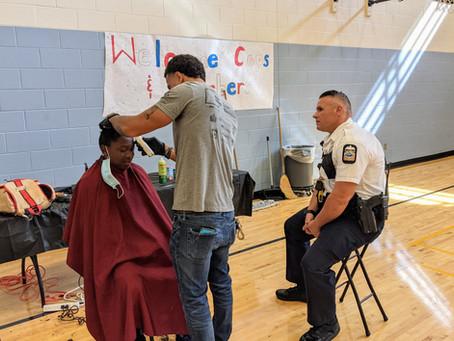 Cops & Barbers 2021: Hilltop