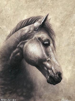 Hand embellished Horse Edition