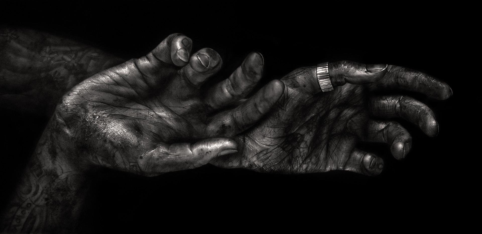Artists Hands.