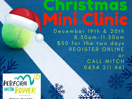 Perform With Power T.A. Christmas Mini Clinic