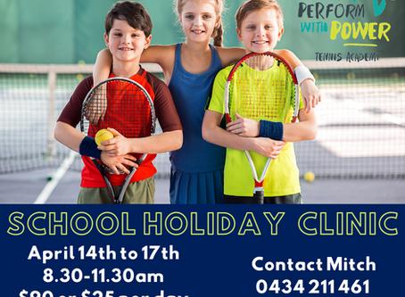 Tamworth School Holiday Clinic, April 2020