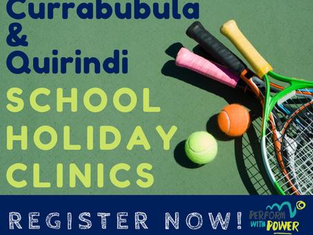 Currabubula & Quirindi School Holiday Clinics