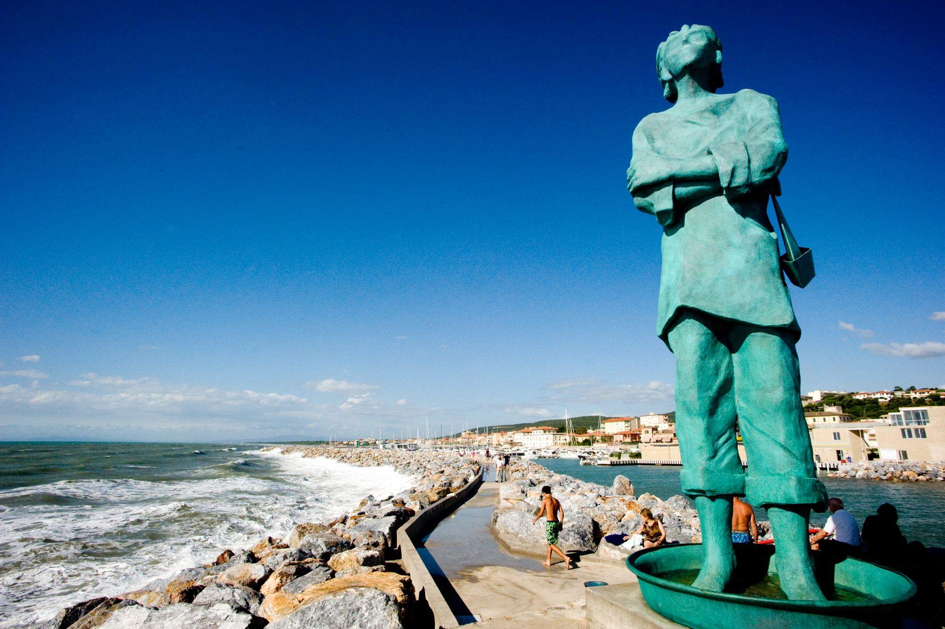 La statua del Marinaio
