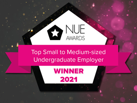 Top Small- Medium Sized Undergraduate Employer 2021 Winner!