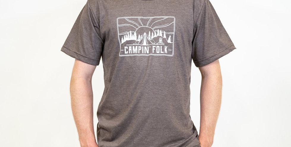 'Campin' Folk' T-Shirt- Made in Canada