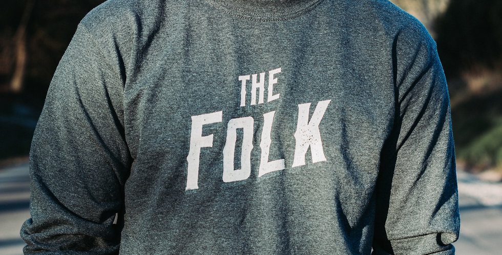 'The Folk' Logo Long Sleeve