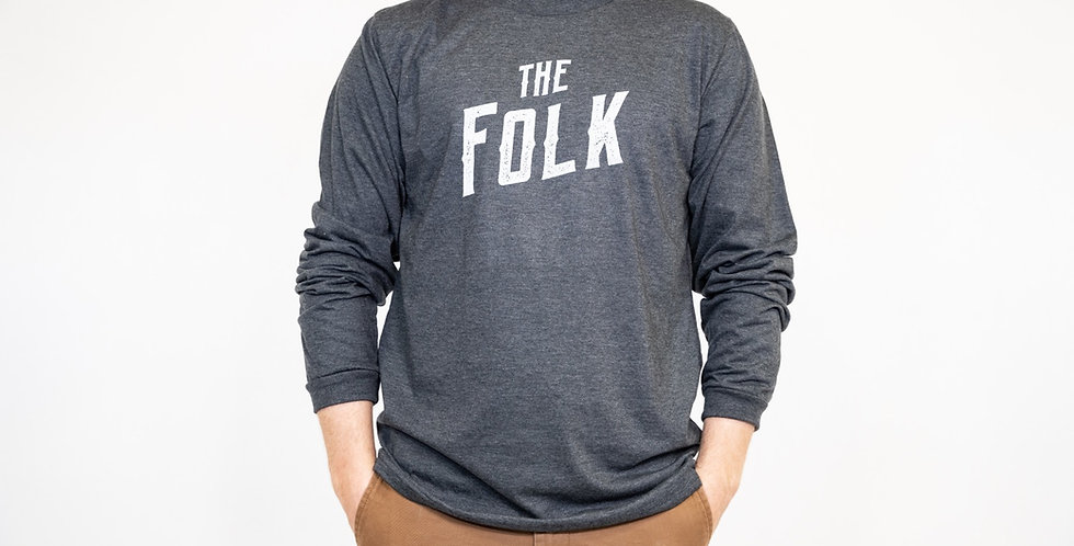 'The Folk' Long Sleeve- Made in Canada