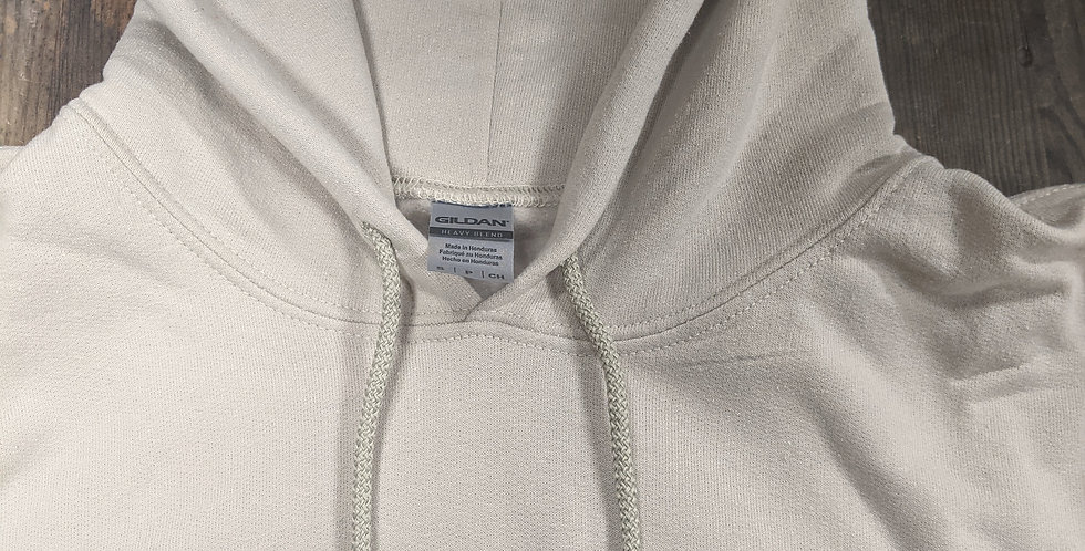 Port Dover Collective Hoodie - Small - Hole in Seam, Ink Stain inside Hood